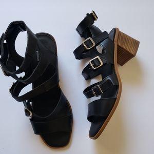Shellys London Strappy Blocked Heels Sandal